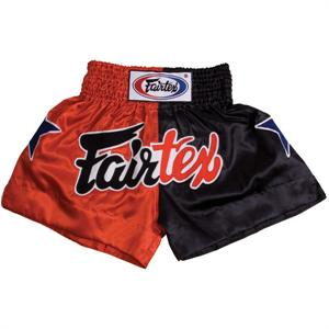 Thai Trunks (Red/Black Combo)
